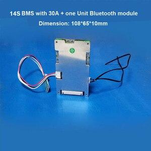 Image 3 - 14 วินาที 58.8 โวลต์ Li ion สมาร์ทบลูทูธ BMS APP ซอฟต์แวร์การจัดการสำหรับสกู๊ตเตอร์ไฟฟ้าจักรยานแบตเตอรี่ lipo กับ 20A to 60A