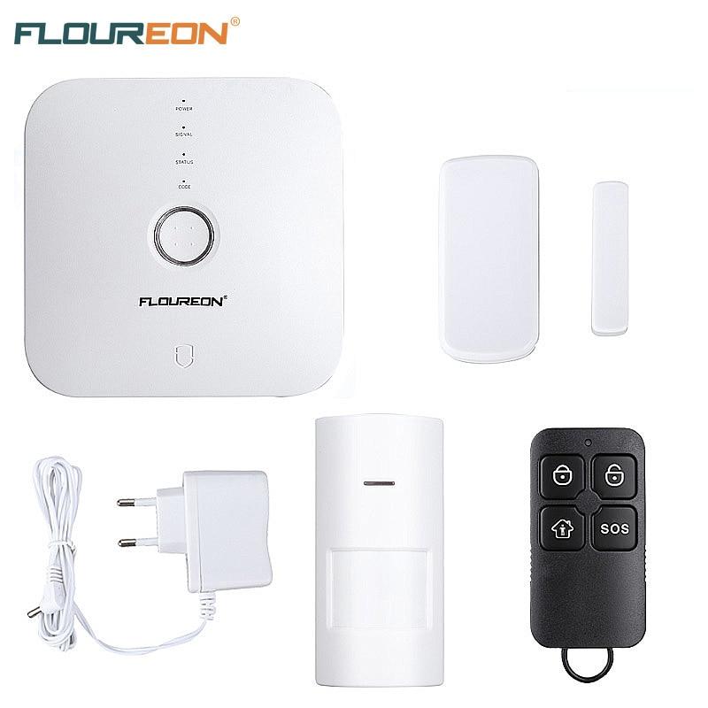 Floureon Wifi Home Burglar Security Alarm System Wireless