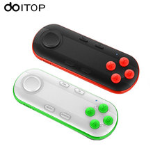 DOITOP Wireless Bluetooth Gamepad VR Glasses Remote Android IOS Game Controller Joystick for Smartphones Pad PC Self Timer B4