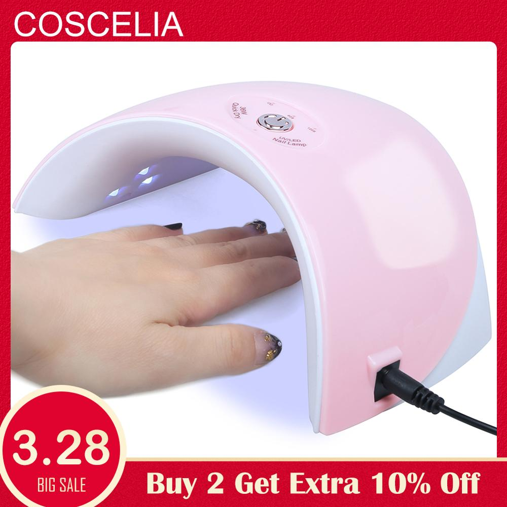 Nails Salon Professional Use Manicure Art Tools Nail Dryer 36w Uv Led Lamp For Machine Curing 120s Timer Gel Nail Polish Nails Art & Tools Nail Dryers