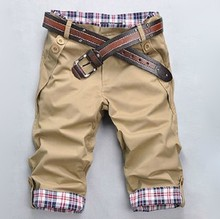 free shipping 2014 New Hot Men's Jeans Casual Straight Pants Slim Fit Summer Denim Shorts Trousers Multi Colors