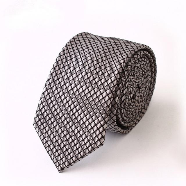 Alta Qualidade 2016 Nova Marca de Luxo Gravata Dos Homens Laços De Negócios para homens Moda Slim Laço Ocasional 6 cm Gravatas Dos Homens Gravata De Seda Dos Homens