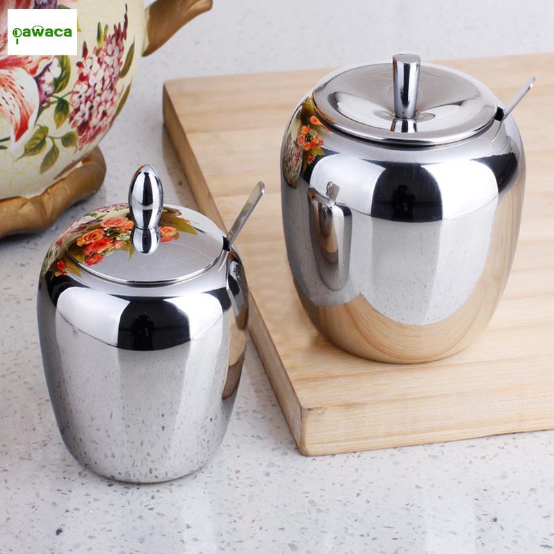 Spice Jar Seasoning Can Sugar Bowl Kitchen Tool Scrylic Salt Condiment Cruet Flavor Storage Bottle with