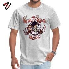 Men T-shirts Horror Friday The 13th Freddie Mercury T Shirt Freddy and Jason Show Streetwear Jurassic Park Top Tshirt Crazy