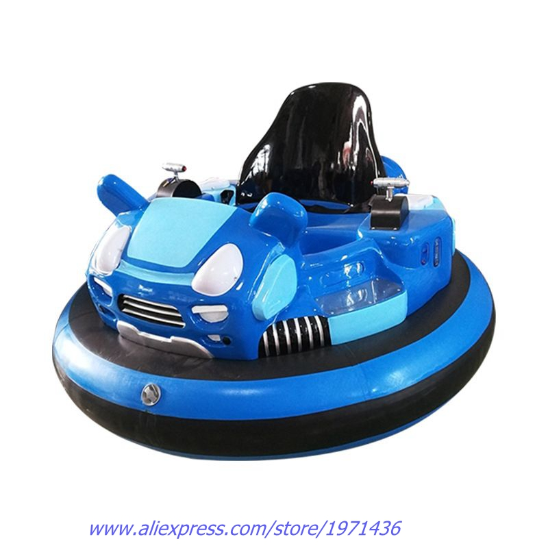 Plaza Amusement Device Equipment Children Adults Laser Shooting Battle Games Inflatable Collision Cars Battery Bumper Cars