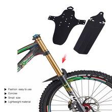 2pcs / lot אופניים פנדר כביש mtb אופני הרים אופני הרים תחת אוכף יבש חכם מול / האחורי Mudguards אביזרים 2017 חם