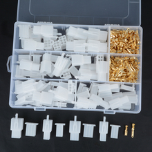 40 Set Practical Auto Electrical 2.8 mm 2 3 4 6 Pin Wire Connector Terminal with Fixed Hook For Cars Boat Wiring Mayitr