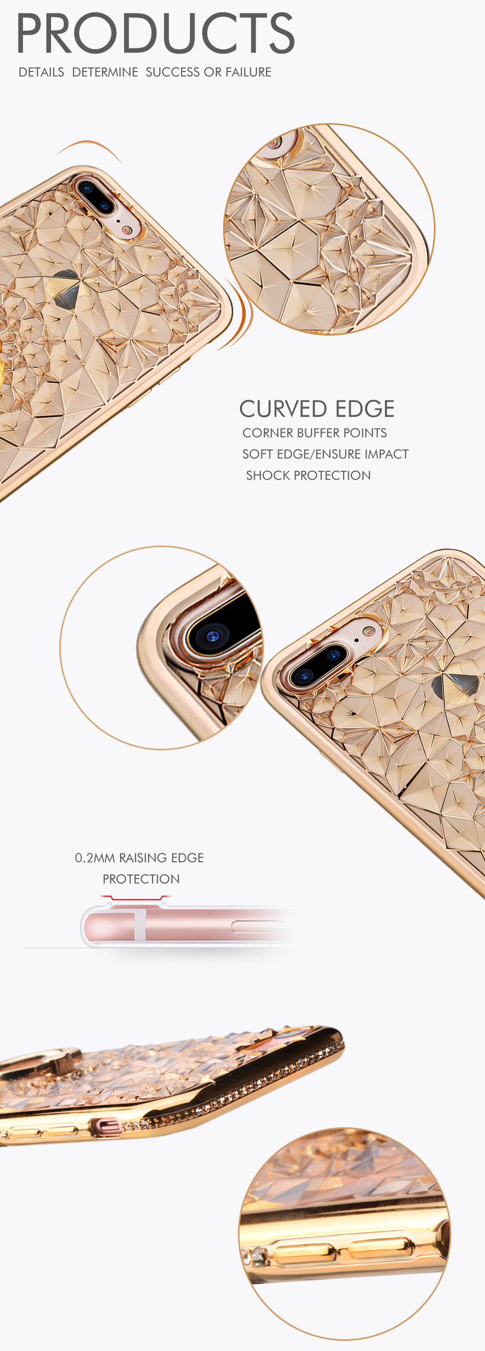 For Apple Iphone 7 pink
