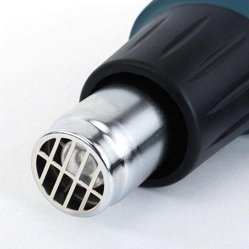 OK Digital Elétrica LCD Pistola De Ar Quente Ferramentas Bocal de Envolvimento de Psiquiatra de Calor Ajustável da Temperatura de Solda Bom Aquecedor Térmico G
