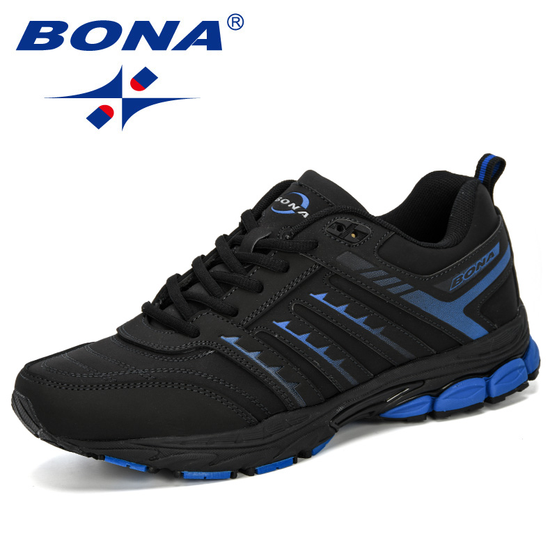 Image 3 - BONA 2019 New Arrival Men Road Running Jogging Walking Sports  Shoes High Quality Lace Up Breathable Male Sneakers ComfortableRunning  Shoes