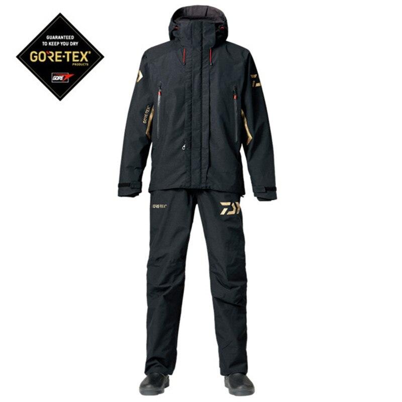 2018 Daiwa ropa de pesca establece Mens secado rápido ropa de pesca transpirable camisa y pantalones traje de deportes al aire libre chaquetas de pesca DAIWA