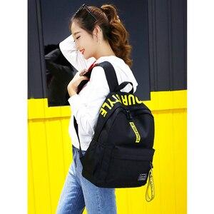 Image 5 - Mochila de gran capacidad a la moda para hombre y mujer, bolso escolar de nailon para adolescentes, bolso informal para estudiantes, mochila para chicas adolescentes