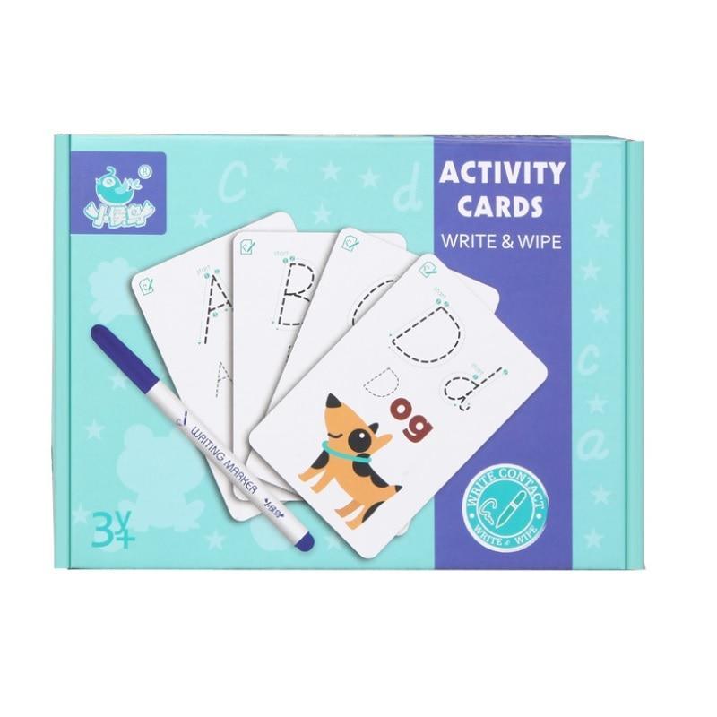 Brinquedos Educativos Alfabeto Dígito palavras de matemática