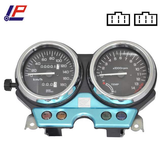 Motorcycle Gauges Cluster For CB400 CB 400 1992-1994 92 93 94 Motorcycle Gauges Speedometer Tachometer Odometer Cluster NEW