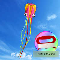 Pieuvre cerf-volant 4 M 3D ligne unique cascadeur/logiciel Sport volant cerf-volant extérieur facile à voler enfants jouets amusants cadeaux