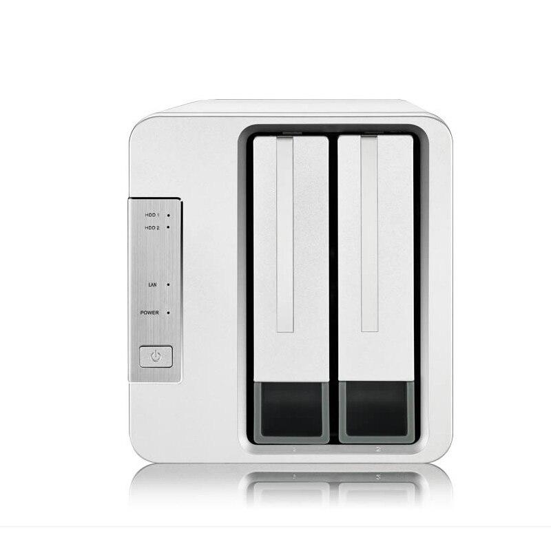 Mutig 2 Bay Hdd Nas Optimiert Für Haus Oder Büro Soho Netzwerk Lagerung 1,4 Ghz 64bit System 1 Gb Speicher 1 * Rj-45 G-ethernet Raid Funktion