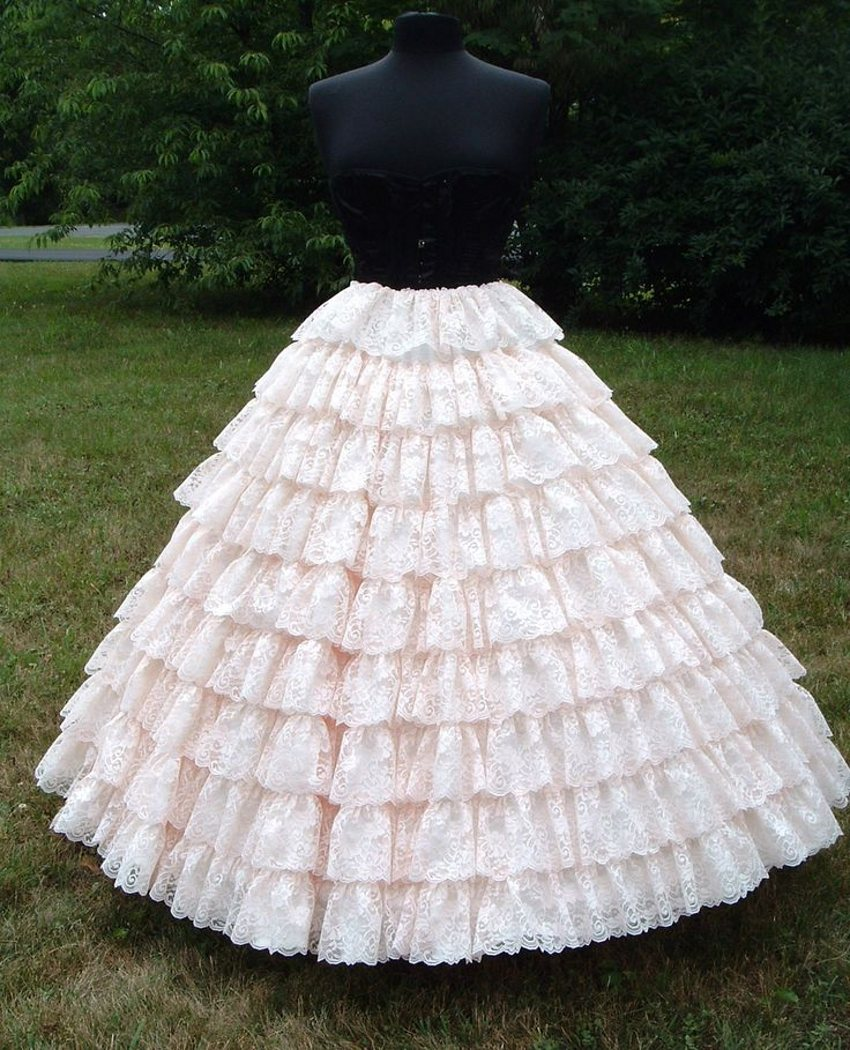 Popular puffy underskirt buy cheap puffy underskirt lots for Petticoat under wedding dress