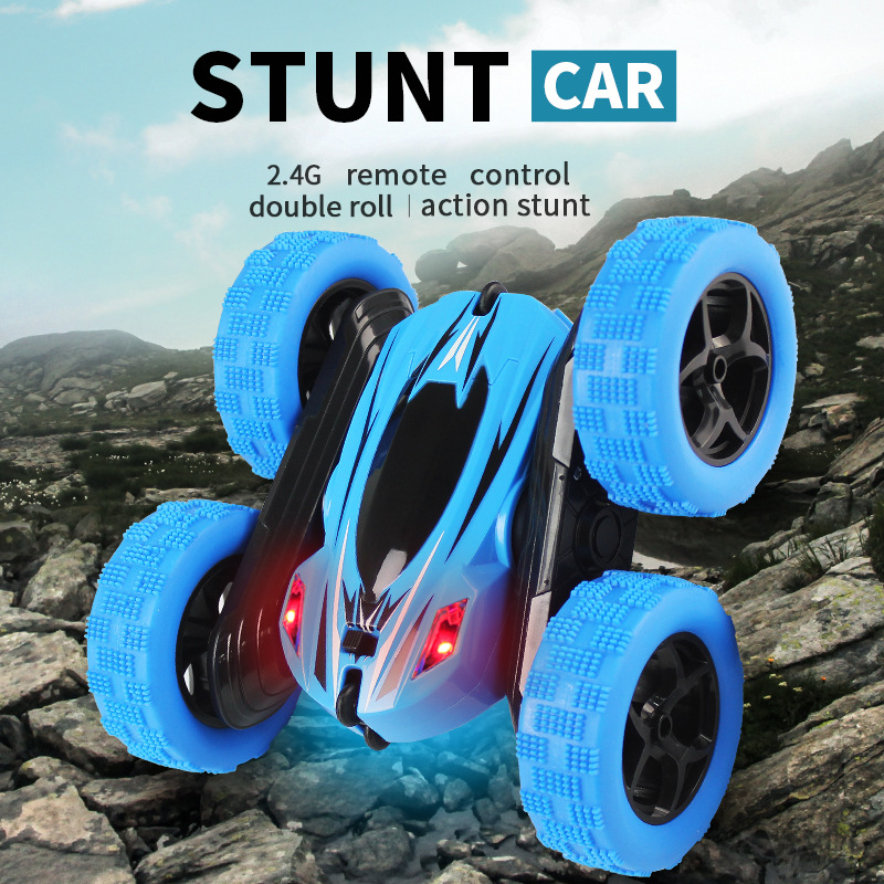 RC Car 2 4G 4CH Stunt Drift Deformation Buggy Car Rock Crawler Roll Car 360 Degree Flip Robot RC Cars Birthday Gift Toys for Kid in RC Cars from Toys Hobbies