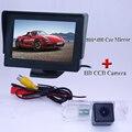 """4.3 """"монитор автомобиля и специальный автомобиль камера заднего вида для VW MAGOTAN 2008 ~ 2010 для Volkswagen POLO Hatchback"""
