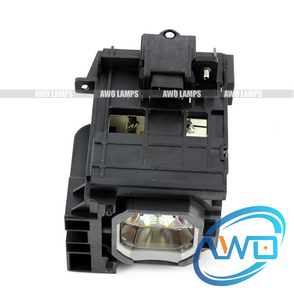 Free shipping !   Compatible lamp NP06LP with housing for NEC NP1150/NP1250/NP2150/NP2250/NP3150/NP3151W/NP3250/NP3250W uhp330 264w original projector lamp with housing np06lp for nec np 1150 np1250