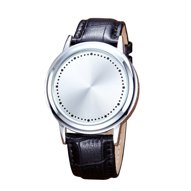 2018 CHLFQ Fashion Digital Watch Men Creative Personality Minimalist Touch Screen LED Watch Smart Electronic Casual Men watch 20 in Lover 39 s Watches from Watches