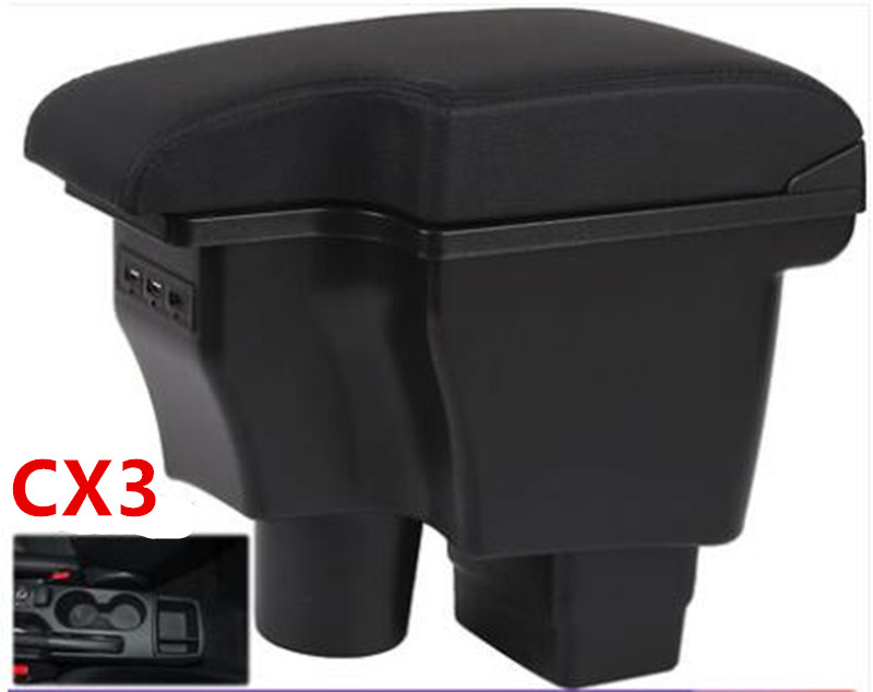 For mazda2 skyactiv version cx3 CX-3 armrest box  For mazda2 skyactiv version cx3 CX-3 armrest box