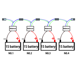 Image 5 - Battery Active voltage Equalizer 1S 2V 6V 12V Balancer Lead acid battery for Energy storage system ESS  Solar Battery with LED