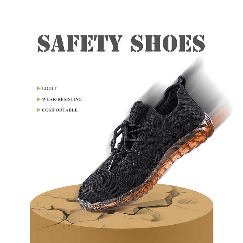 Dropshipping ทำลายความปลอดภัยรองเท้าผู้หญิง xzmdh เหล็ก Air รองเท้าเจาะหลักฐานทำงานรองเท้าผ้าใบ Breathable รองเท้า