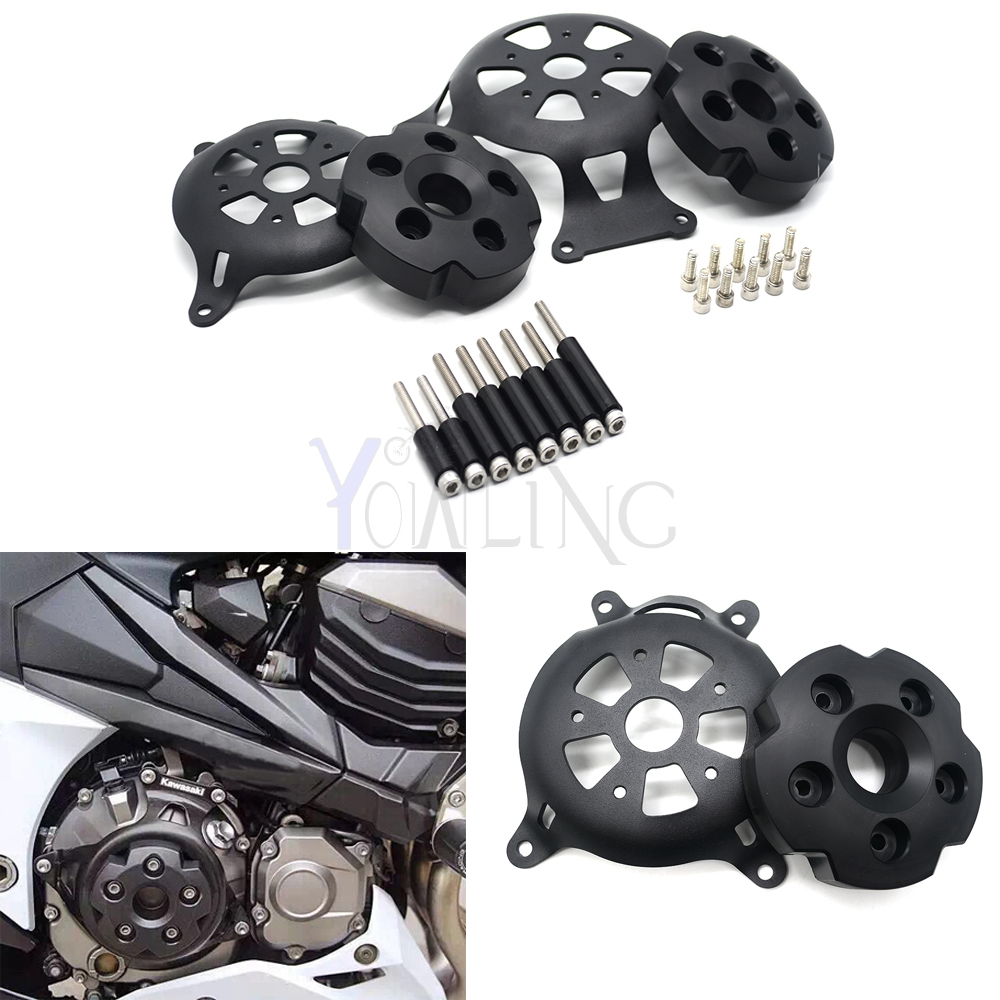купить For kawasaki z800 Motorcycle  Engine Stator Cover CNC Engine Protective Cover Protector  2013 2014 2015 2016 z 800 недорого
