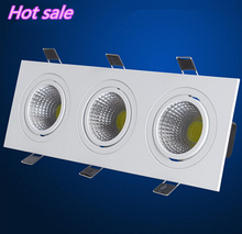Free shipping New style!!! 3x10W LED Ceiling Bulb Light High Brightness Cool White/White/Warm White LED Downlights AC85-265V