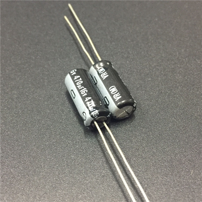 10pcs 470uF 16V NICHICON VR Series 6.3x15mm 16V470uF Aluminum Electrolytic Capacitor
