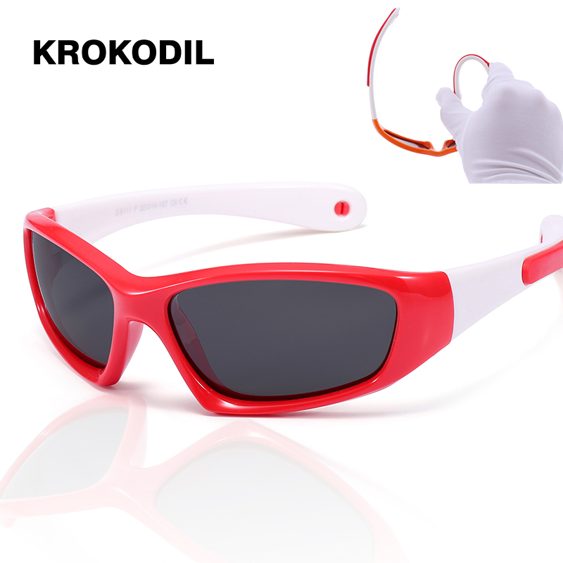 Silicone Children's Polarized Sunglasses Baby Child Care
