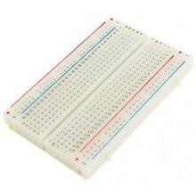 Мини макетная плата 400 точки связи пайки PCB Универсальный макет тестовая плата хлеба для arduino тестовая печатная плата