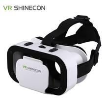 Wirtualna Rzeczywistość VR BOX VR SHINECON 5 0 okulary Headset dla 4 7-6 0 inch smartphone Super Mini i lekki tanie tanio Wciągające Brak Spolaryzowane Z UiRiQI Lornetki W pakiecie 1 Zestawy kontrolerów Smartfonów U202 Skrzynia VR Garnitur dla 4 7 do 6 cali inteligentnych telefonów