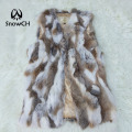 New Free Shipping Real Genuine Natural Rabbit Fur Vest Female Women Fur Coat Vest Short Design Waistcoat Low big size F670