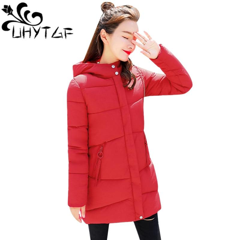 Women's Clothing Jackets & Coats Able Uhytgf Women Winter Jacket Hooded Warm Coat Plus Size Overcoat Down Cotton Padded Jackets Female Long Parka Women Wadded Jaqueta By Scientific Process