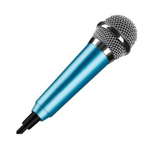 Image 5 - Aluminium alloy Mini 3.5mm Handheld Karaoke KTV Cellphone Microphone Wired Small Recorder Microphone for Cellphone Computer