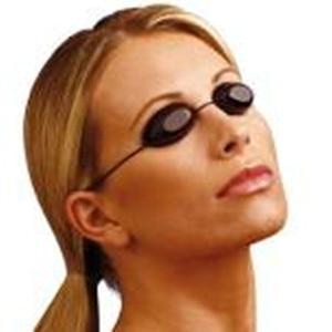 Image 1 - Flexible Uv Eye Protection Indoor & Outdoor Sunbed Tanning Goggles Beach Sunbathing Eyewear Soft adjustable