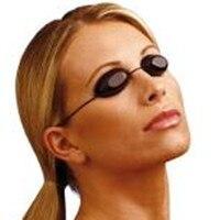 Uv flexível proteção para os olhos indoor & outdoor sunbed bronzeamento óculos praia óculos de sol macio ajustável|eye protection|tanning goggles|protective eye goggles -