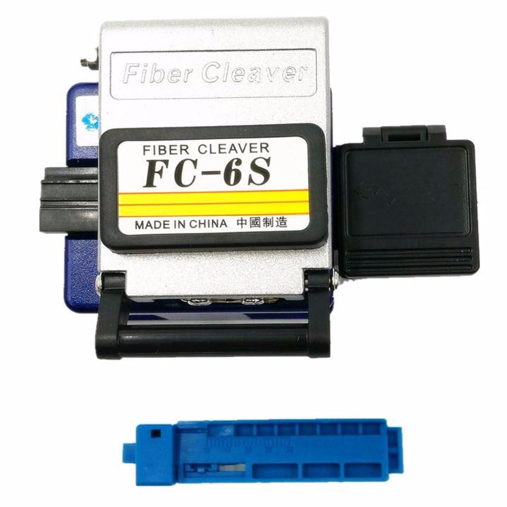 Frio Dedicados Contato Metal FC-6S fiber cleaver faca de corte de fibra FTTH cabo de fibra óptica fibra cutelo faca de corte ferramenta