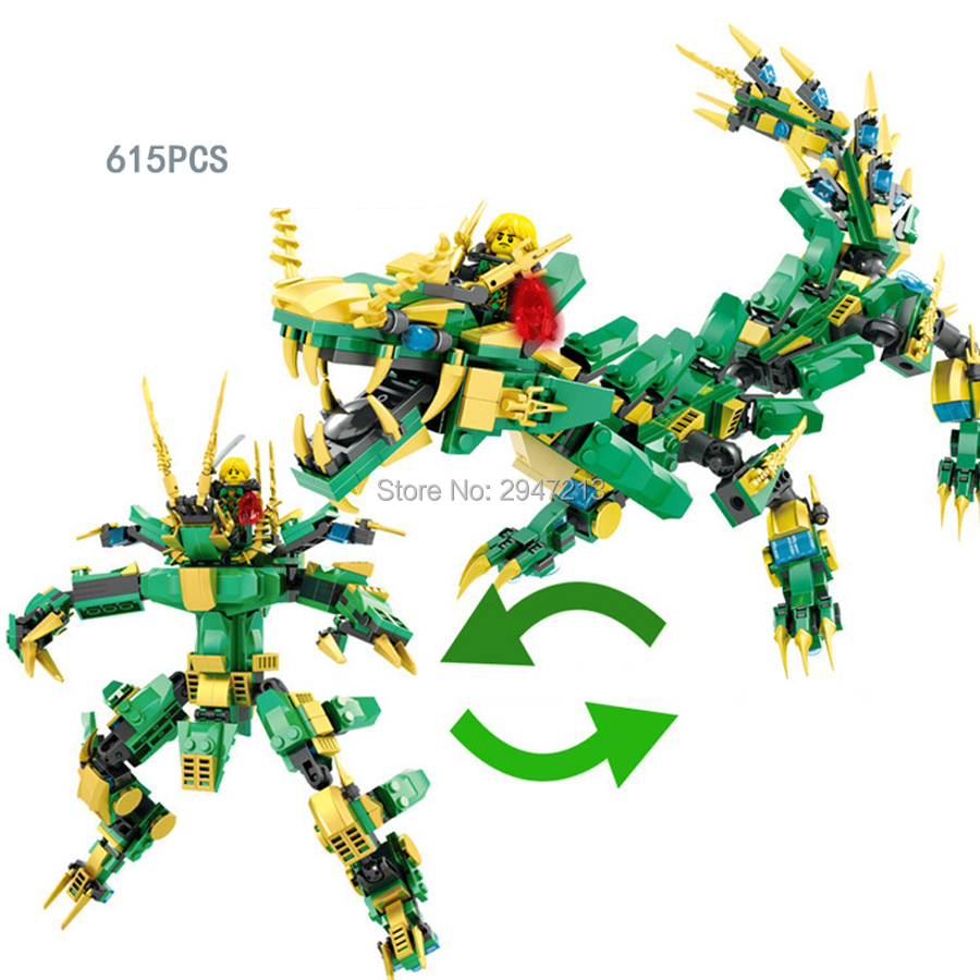 hot compatible LegoINGlys ninja movie Dragon phantom Mech 2in1 robot Building Blocks modle Lloyd figures brick toys for children 8 in 1 military ship building blocks toys for boys