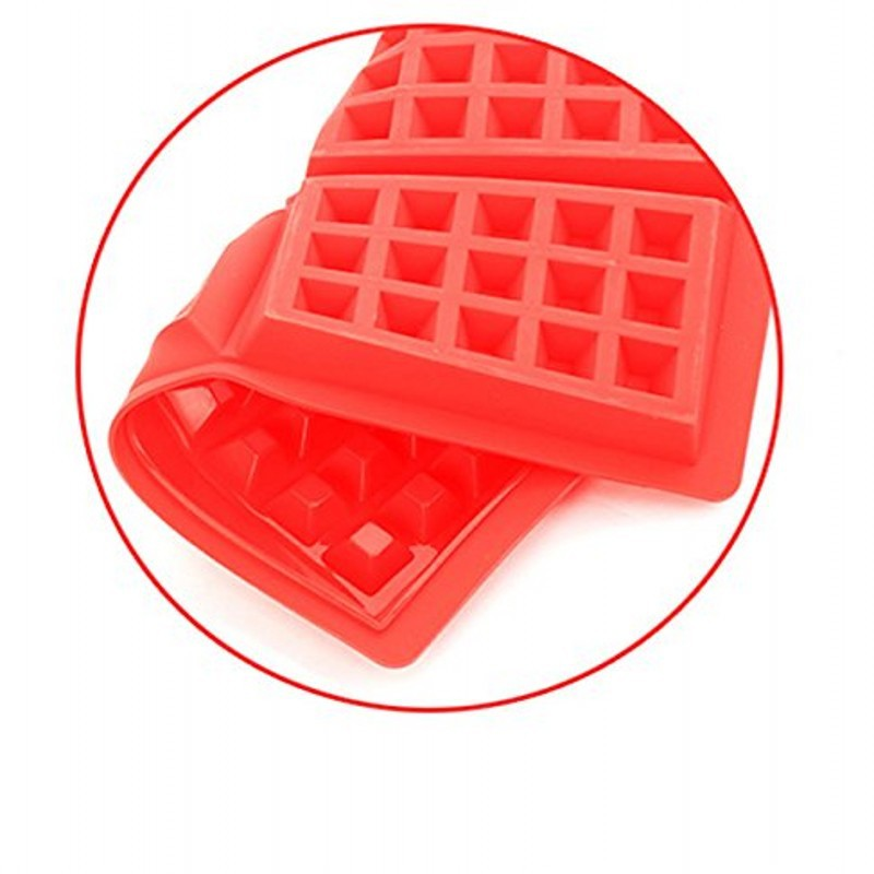 DINIWELL Waffle Makers for Kids Silicone Cake Mould Waffle Mould Silicone Bakeware Set Nonstick Silicone Baking Mold Set
