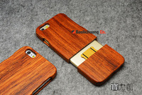 For IPhone 6 6s Real Genuine Natural Walnut Wood Wooden Hard Case Cover For IPhone 6s