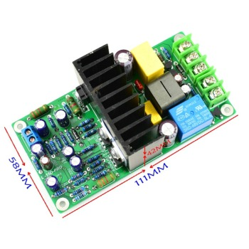 цена на L15D-PRO 300W Class D IRS2092S Digital Amplifier Mono Board w/ Relay Protection
