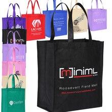 Торговля Заказная Нетканая хозяйственная сумка полипропиленовые рекламные сумки печать