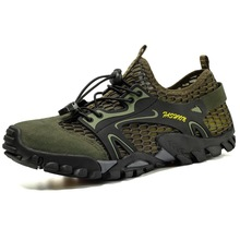 Aqua-Shoes Non-Slip Beach Upstream-Sneakers Mesh Fishing Outdoor Breathable Water Quick-Dry