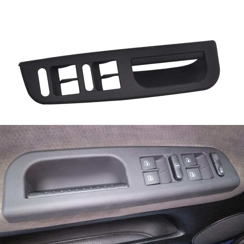 Авто двери окна переключатель панель управления ободок с ручкой отделка для VW Passat B5 Jetta Bora Golf MK4 1998-2001 2002 2003 2004