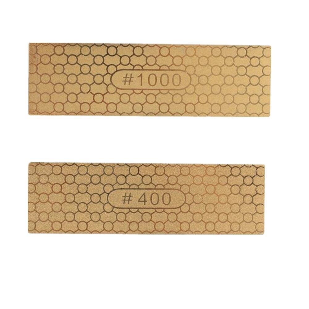 400//1000 # Double Face Diamond Sharpening Stone Grind Aiguiseur de Couteaux pierre à aiguiser