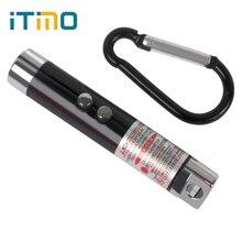 3 in 1 Fashion Laser Pen Pointer Beam with Keychain Mini LED FlashLight UV Torch Infrared for Emergency Case Pocket Lighting