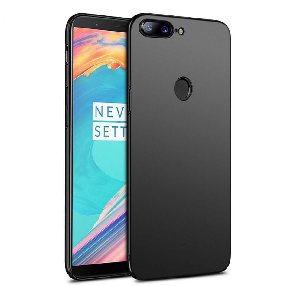 Oneplus 5T Case Ultra Thin Full Protection Hard Frosted Phone Case For Oneplus 5 Cover Case for Oneplus 5 T A5010 Housing Shell